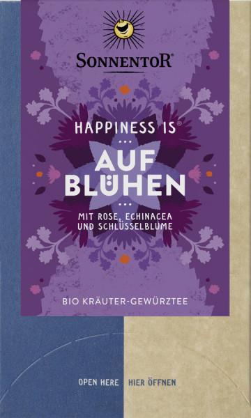 *Bio Aufblühen Tee Happiness is®, Doppelkammerbeutel (27g) Sonnentor
