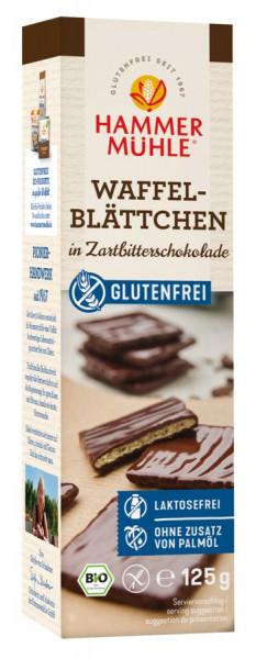 *Bio Bio Waffelblättchen Zartbitter gf (125g) Hammermühle