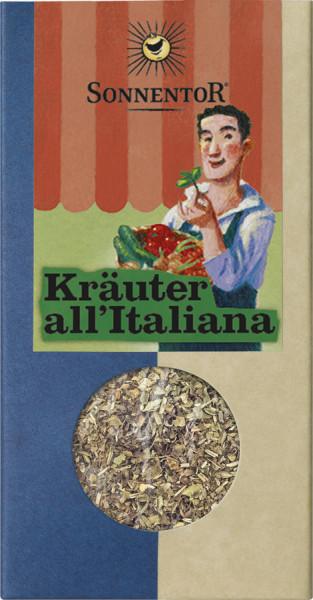 *Bio Kräuter all'Italiana (vormals Italienische Kräutermischung) geschnitten, Packung (30g) Sonnento