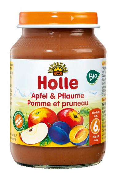 *Bio Apfel & Pflaume (190g) Holle