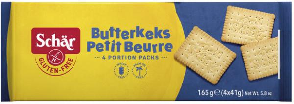 BUTTERKEKS PETIT BEURRE (165g) Schär