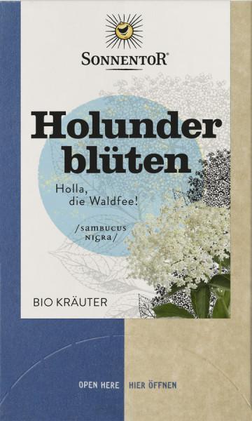 *Bio Holunderblüten, Doppelkammerbeutel (27g) Sonnentor