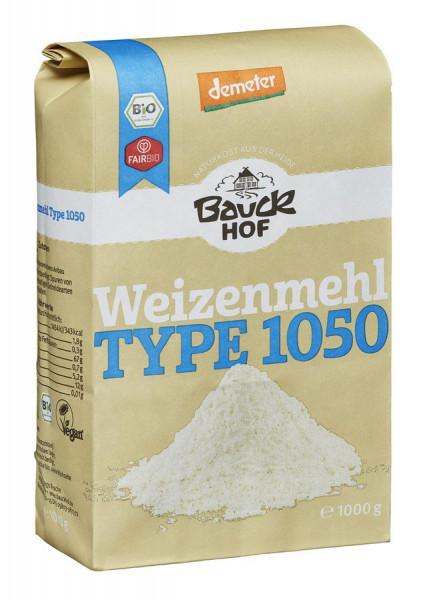 *Bio Weizenmehl Type 1050 Demeter (1000g) Bauckhof